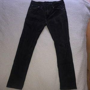 Men's LEVI STRAUSS Black Jeans